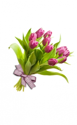 Bouquet tulipanes